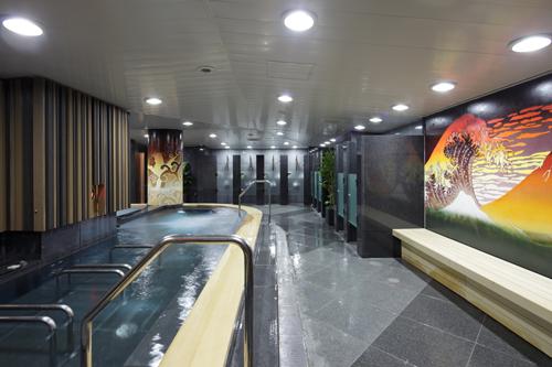 浴室も綺麗で広々