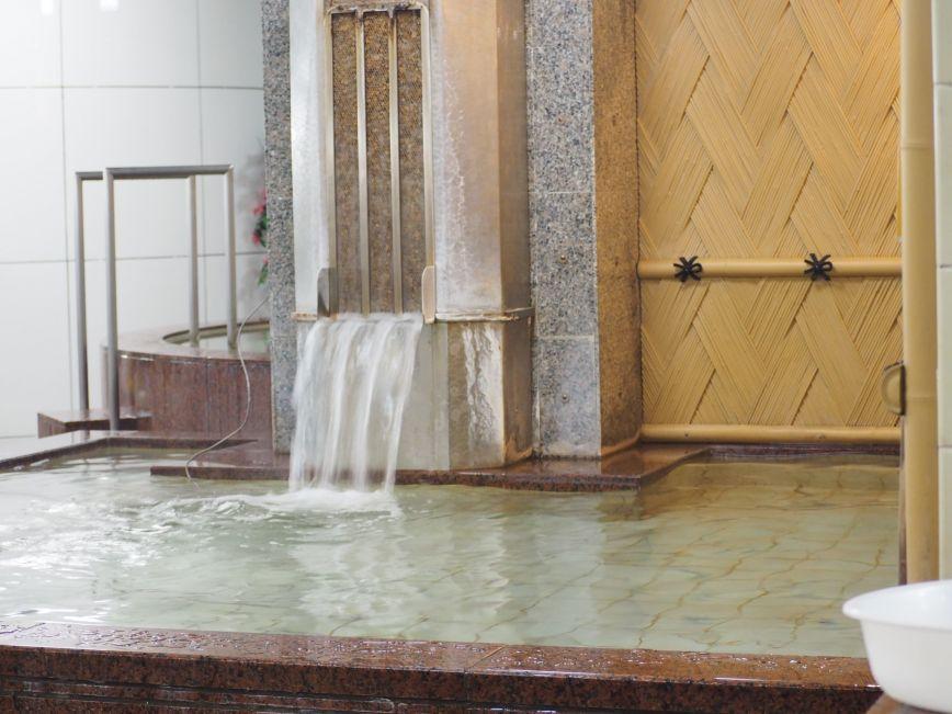 サウナのシメにあつ風呂